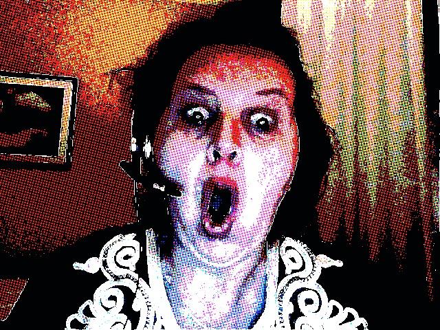 Skönt avslappnad och nervarvad Malou efter första dagen på Midem 2011