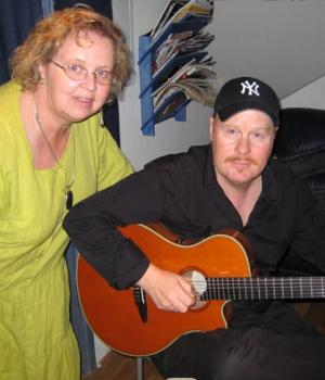 Malou och Ulf Wakenius
