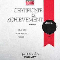 Malou-The-Cage-Billboard-1990