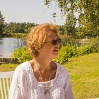 Beautiful Snäcksjön in the background / Vackra Snäcksjön i bakgrunden